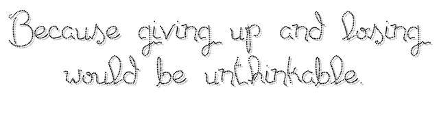 NaNo motto