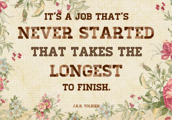 Procrastination - Tolkien