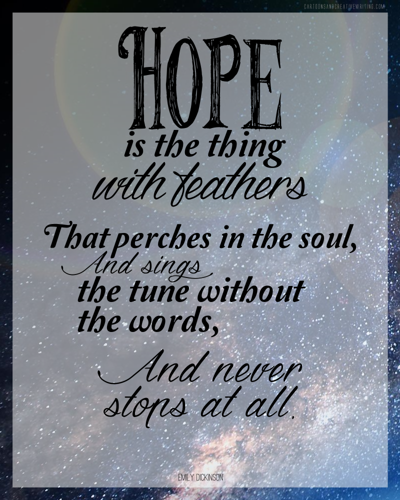 Quote Saturday Hope Is Cc